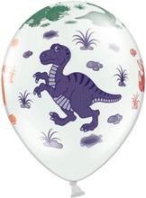 PartyDeco Ballonger Dinosaurier