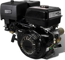 vidaXL benzinmotor med elektrisk start 15 hk 11 kW sort