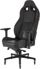 T2 Road Warrior Chair - Black Krzes?o gamingowe - Czarny - Skóra PU - Do 130 kg