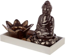 Buddha/Lotus Värmeljushållare