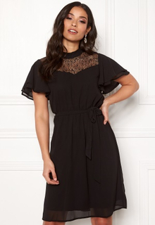 ONLY Ariana Lace S/S Dress Black 34