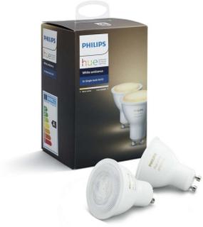 Philips Hue Philips Hue WA GU10 Lyskilde 5,5W 2pk