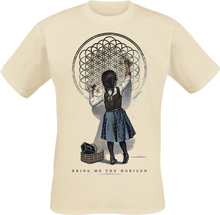 Bring Me The Horizon - Chalk Girl -T-skjorte - beige