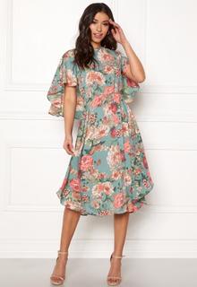 Y.A.S Merio S/S Dress Trellis S