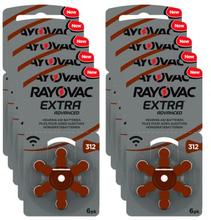 RAYOVAC Rayovac Extra advanced ACT 312 Brun 4563-1 Replace: N/ARAYOVAC Rayovac Extra advanced ACT 312 Brun