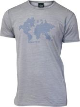 Ivanhoe Underwool Agaton Earth Herr T-shirt Grå XL