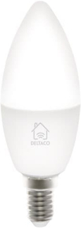 Deltaco Smart Home WiFi Led-lampa, E14 5W 470lm