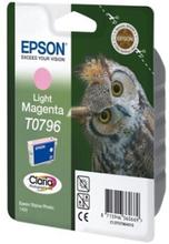 Epson T0796 - 11 ml - lys magenta - original - blister - blekkpatron - for Stylus Photo 1500, P50, PX650, PX660, PX710, PX720, PX730, PX800, PX810, P