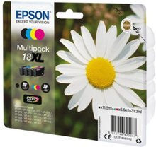 Epson 18XL - 4-pack - XL - svart, gul, cyan, magenta - original - blister - blekkpatron - for Expression Home XP-212, 215, 225, 312, 315, 322, 325, 4