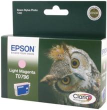 Epson T0796 - Lys magenta - original - blekkpatron - for Stylus Photo 1500, P50, PX650, PX660, PX700, PX710, PX720, PX800, PX810, PX820, PX830