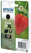 Epson 29XL - 11.3 ml - XL - svart - original - blære med RF/lyd-alarm - blekkpatron - for Expression Home XP-235, 245, 247, 255, 332, 335, 342, 345,