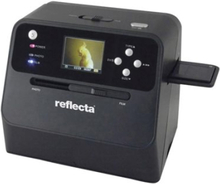 Reflecta Combo Album Scan Negativ-scanner, Diascanner, Fotoscanner 4416 x 2944 pix Mulighed for batteri-/batteridrift , Integreret display , Optimere