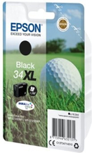 Epson 34XL - 16.3 ml - XL - svart - original - blister - blekkpatron - for WorkForce Pro WF-3720, WF-3720DWF, WF-3725DWF