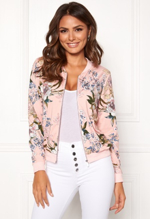 Happy Holly Hanna jacket Dusty pink / Patterned 52/54