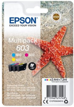Epson 603 Multipack - 3-pack - gul, cyan, magenta - original - blister - blekkpatron - for Expression Home XP-2100, 2105, 3100, 3105, 4100, 4105; Wor