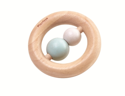 RING RATTLE PASTELL