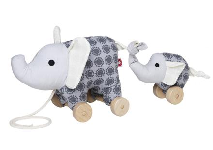 Dragleksak Noma elephant - grå