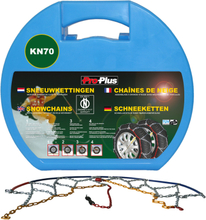 ProPlus Snökedjor till bil 12 mm 2-pack KN70