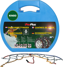 ProPlus Snökedjor till bil 12 mm 2-pack KN80