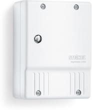 Steinel fotoelektrisk lyskontakt NightMatic 2000, tusmørkekontakt Hvid