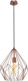 EGLO Pendel lampe Carlton Kobber Farvet 49258