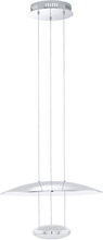 EGLO Pendellampa LED krom Lemos