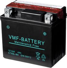 VMF Powersport Liquifix Batteri 12 V 4 Ah MF YTX5L-BS
