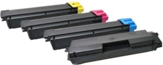 - 4 pakker - sort blå gul magenta - tonerpatron (alternativ til: Kyocera TK-590K Kyocera TK-590M Kyocera TK-590C Kyocera TK-590Y) - Laser toner Svart