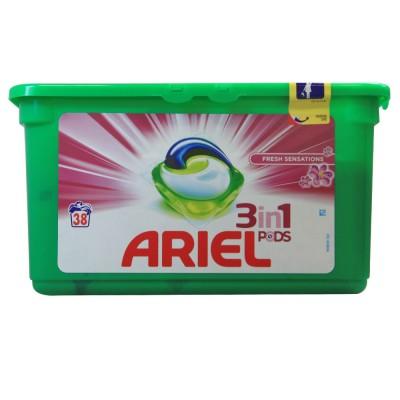 Ariel Pods 3-in-1 Fresh Sensations 38 stk