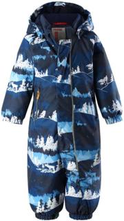 Reimatec Puhuri vinterdress til baby, jeans blå