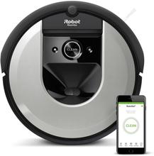 Irobot Roomba I7150 Robotstøvsuger - Svart/sølv