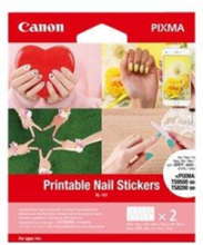 NL-101 - nail stickers - 24 pcs.