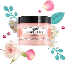 English Rose, Scented Body Butter 300 ml I love… Kroppslotion
