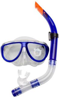 Waimea 88DI dykkermaske med snorkel til voksne, koboltblå