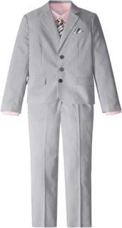 Kostym + skjorta + slips (4 delar)