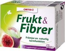 Ortis Frukt & Fibrer, 24 tuggtärningar