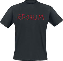 The Shining - Redrum -T-skjorte - svart