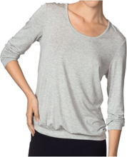 Favourites ¾-Sleeve Top Greymarl