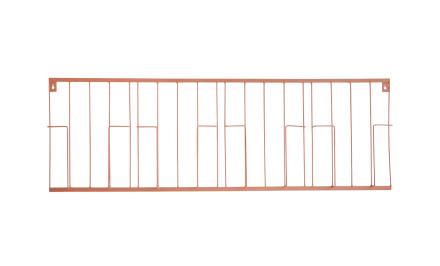 NOELLE Tidningsställ Koppar 100x34 | Förvaringsmöbler