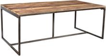 Luxemburg matbord mangoträd 200 cm - Trä/metall