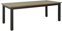 Alfa matbord - Svart/grå