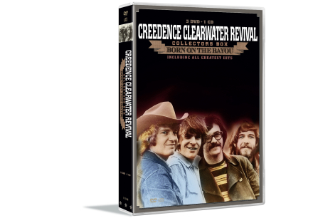 Creedence Clearwater Revival (3 dvd + 1 cd) - DVD