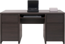 Filippa skrivbord - Mörk ek