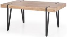 Murphy matbord - Ljus ek/svart