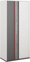 Jacklyn garderob - Vit/graphite