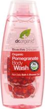 Dr Organic Duschgel Granatäpple 250ml