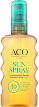 ACO Sun Transparent Spray SPF 30, 175 ml
