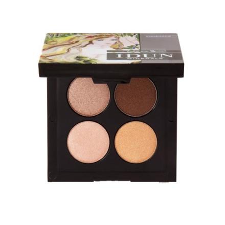 IDUN Minerals Eyeshadow Palette Brunkulla