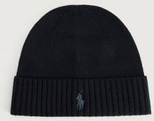 Polo Ralph Lauren Mössa Merino Wool hat Svart