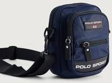 Polo Ralph Lauren Axelremsväska Polo Sport Crossbody Blå